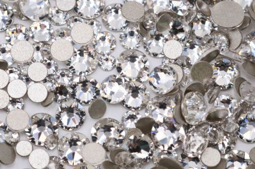 Swarovski Crystals Clear (001) Rhinestone Gems Article 2058 - Mixed Pack 200pcs